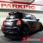 Satin Black Mini Cooper