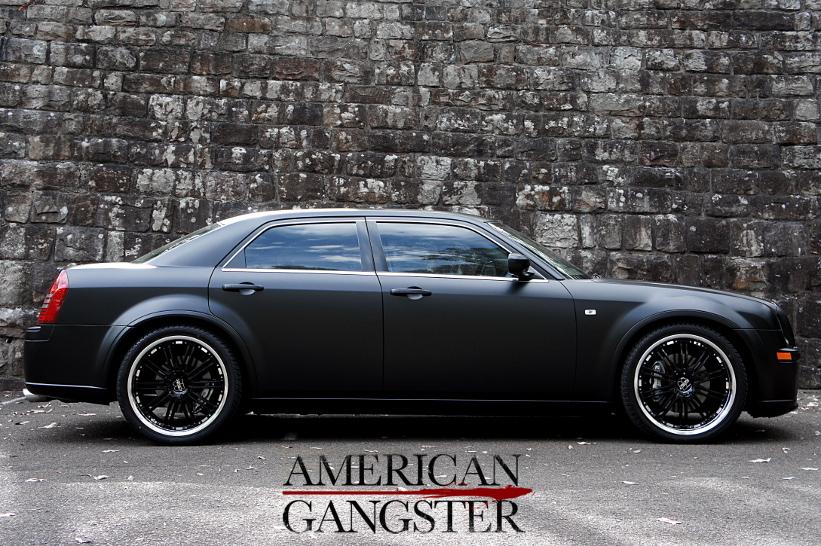 300C Matte Black - American Gangster