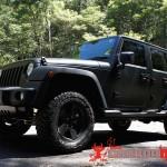 Matte Black Jeep 4 150x150 JEEP Wrangler Matte Wrap