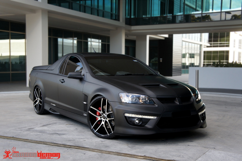 Matte Black Wrap Carbon Demon