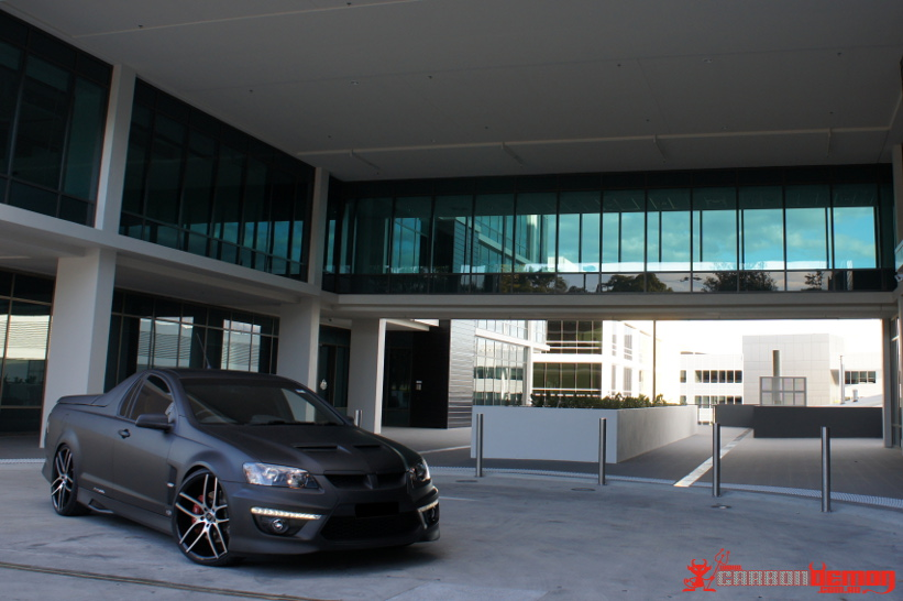 Matte Hsv Ve Maloo E3 Full Car Vinyl Wrap By Carbon