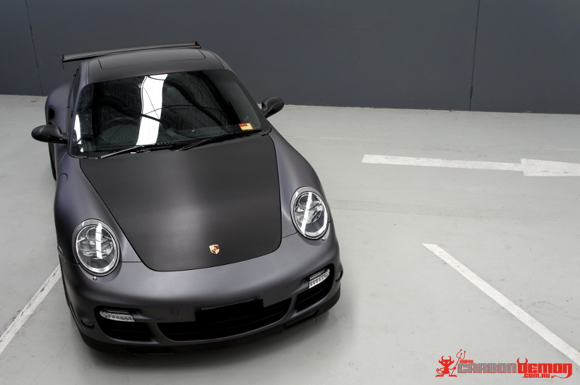 911 997 Turbo Carrera Matte Vinyl Wrap
