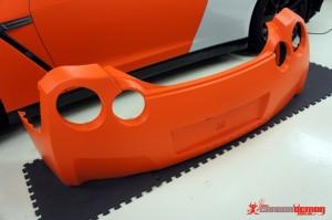 Matte Orange R35 GTR Vinyl Wrap (11)