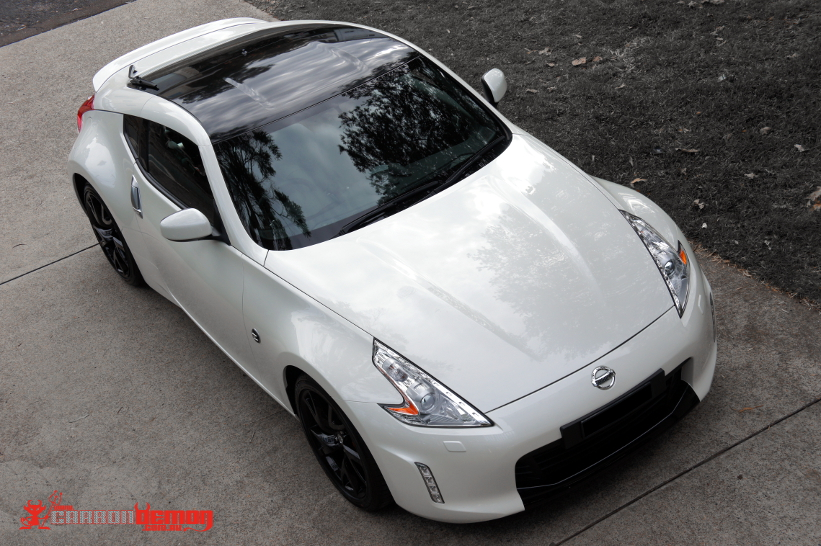 370z 2013 Black Pack Vinyl Wrap