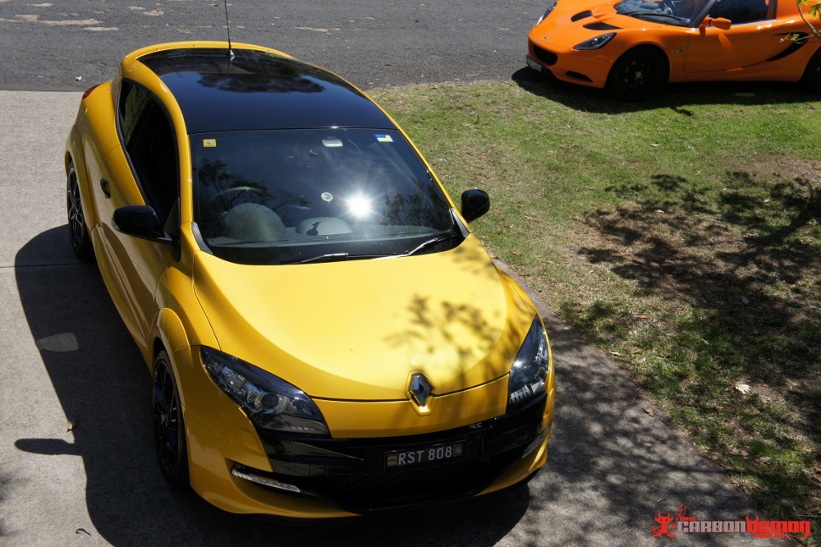 Gloss Black Roof Car Roof Wrap Sydney Carbon Demon