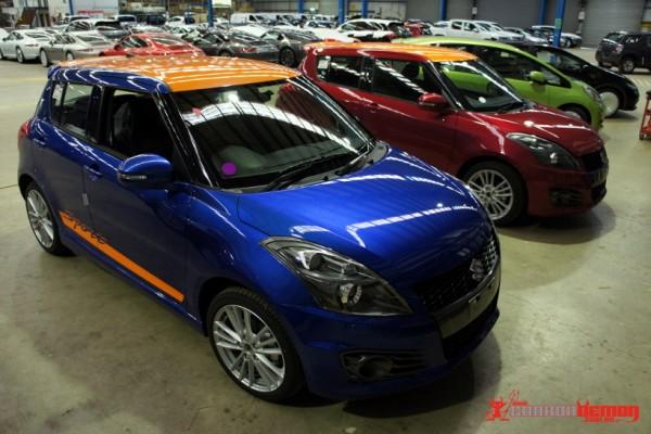 Special Edition Suzuki Swifts
