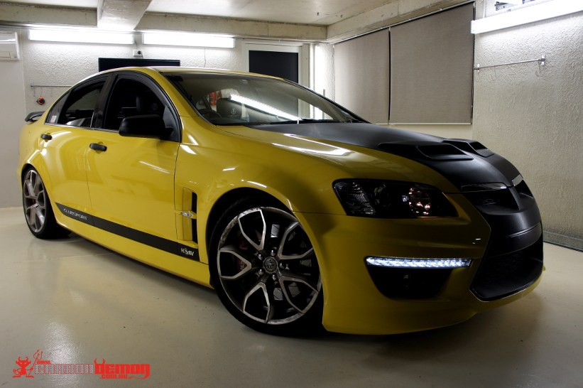 Holden Amp Hsv Vinyl Wrap Carbon Demon