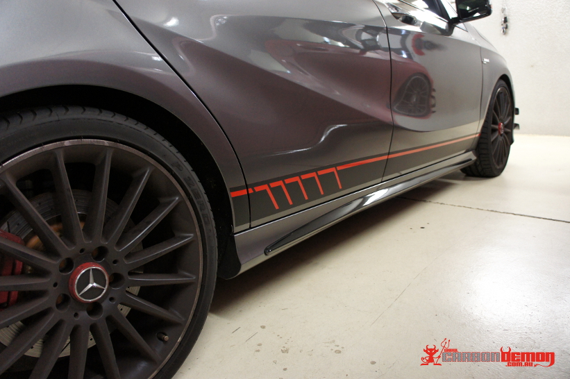 Amg A45 Cla45 C63 S63 C250 Vinyl Wraps Carbon Demon