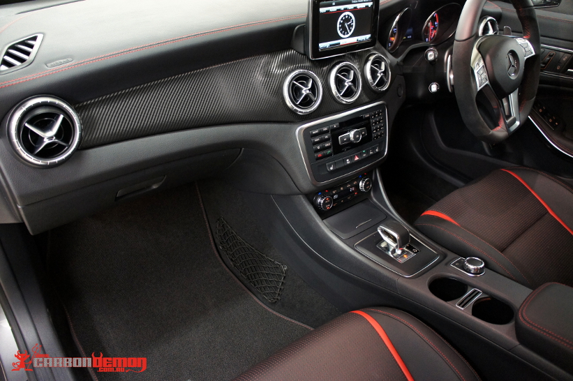 AMG CLA45 carbon fibre interior trim wrap