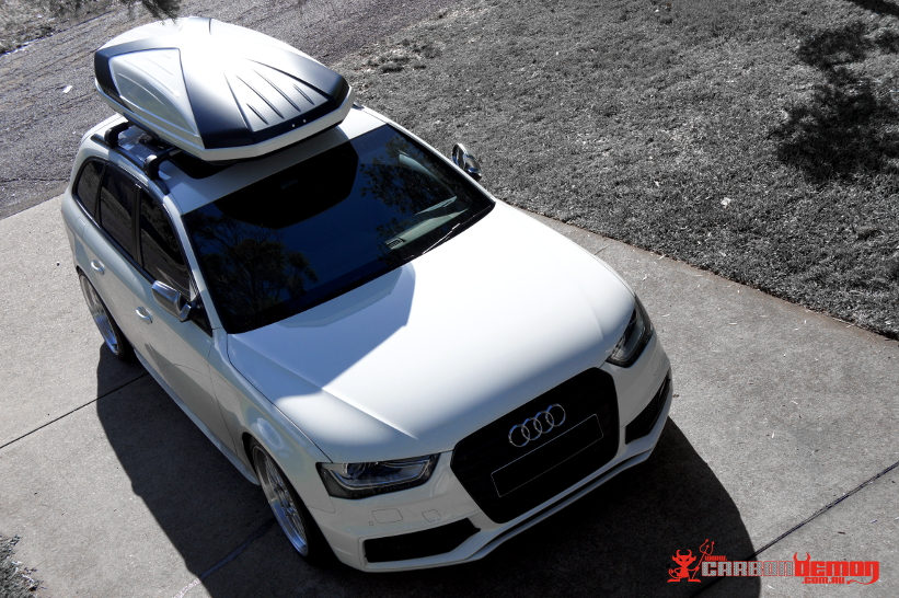 AUDI S4 Roof Box & Black Out Wrap