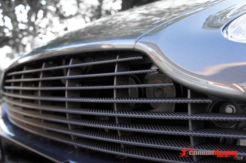 Aston Martin Carbon Fibre Grille