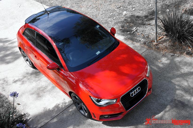 Audi Car Wraps Carbon Demon