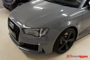 Audi RS3 grille accent vinyl wrap