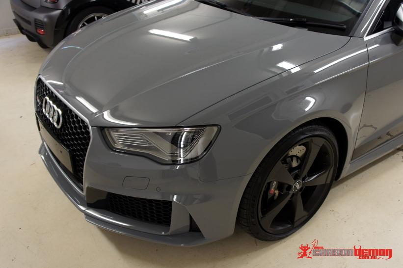 Matte Black Audi >> Audi Car Wraps