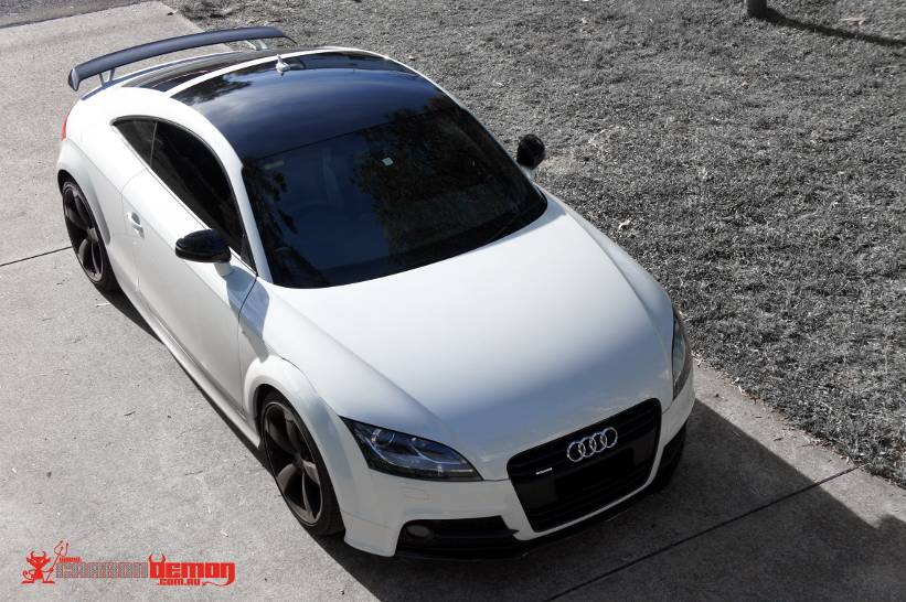 BMW Mini Cooper >> Audi Car Wraps | Carbon Demon