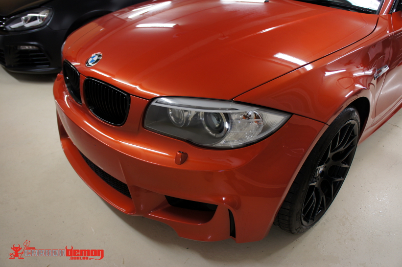 BMW 1M Paint protection vinyl