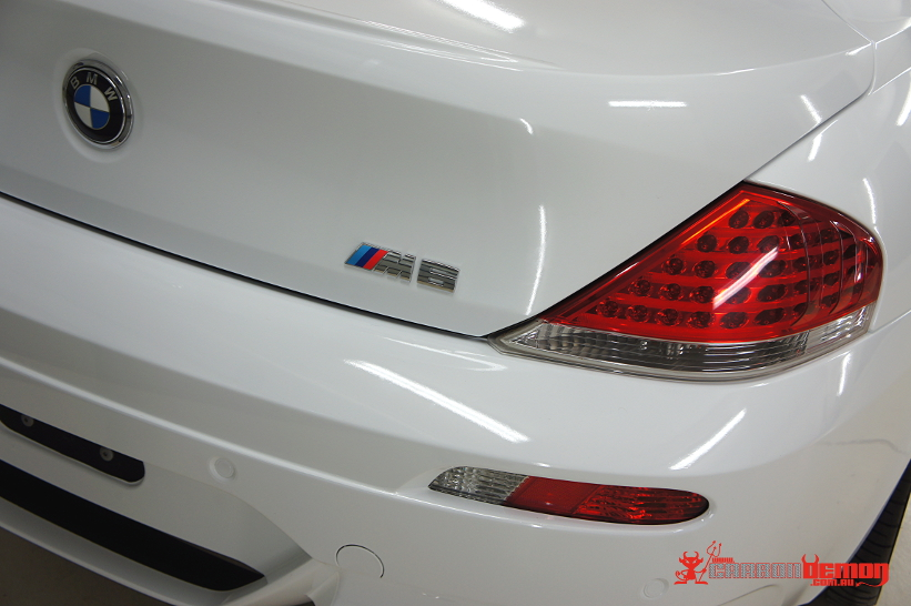 BMW 6-Series Vinyl Wrap (full colour change from black to white)