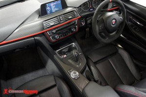 BMW F30 Carbon interior vinyl wrap