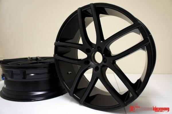 Carbon Fibre Wheel Vinyl Wrap