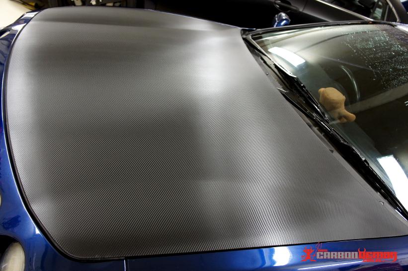 DC2 Carbon Bonnet Wrap