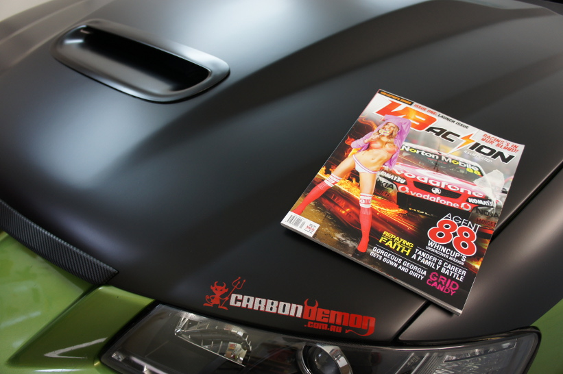 V8 Action Illustrated Magazine Project Car