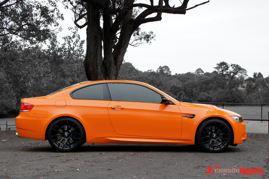 M3 Orange Full Wrap