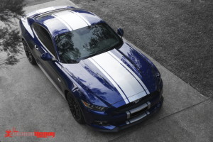 Ford Mustang '16 stripes