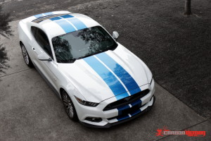 Ford Mustang 2016 stripes