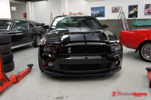 Ford Shelby Mustang GT500 bonnet stripes