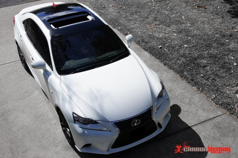 Decals For Cars >> Lexus Carbon Fibre Wrap | Carbon Demon