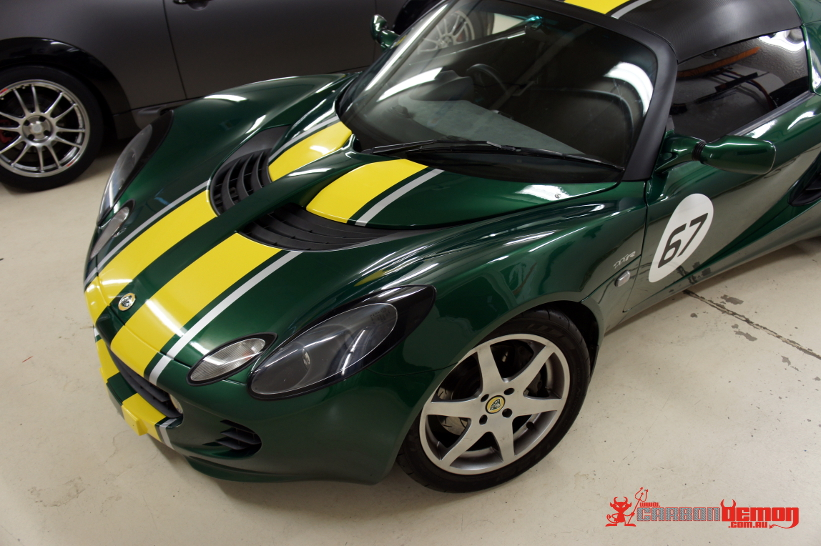 New Cars Com >> Lotus Elise Exige Stripes Decals Vinyl Wrap | Carbon Demon