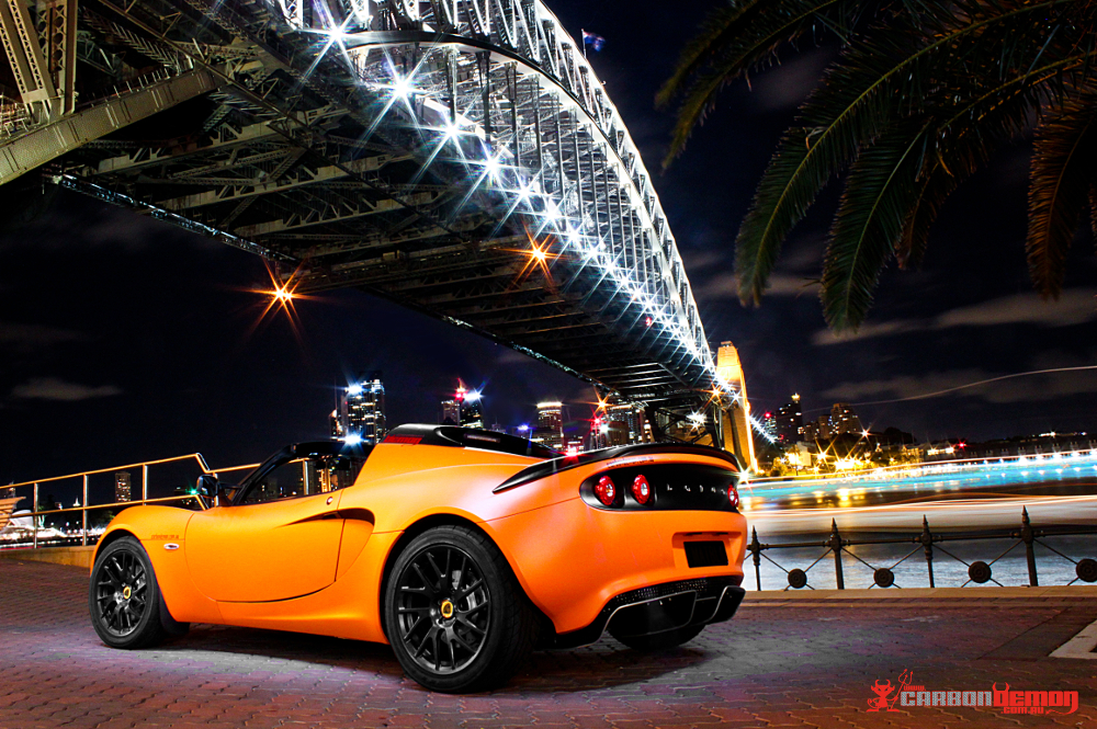 Lotus matte orange vinyl wrap