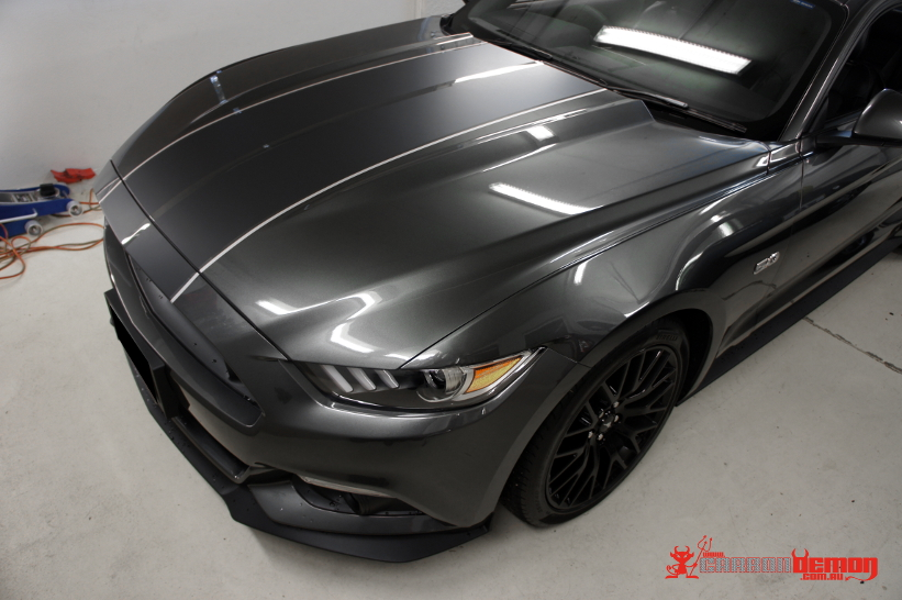 Black Matte Car >> Ford FPV Focus Fiesta Mustang Shelby Ranger Vinyl Wrap | Carbon Demon