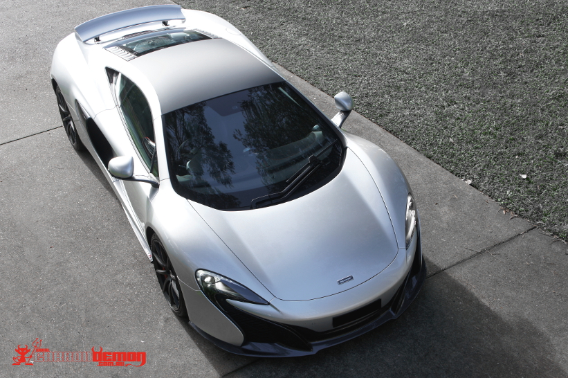 McLaren Cars Vinyl Wrap Custom Colour