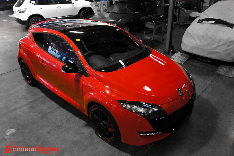Renault Megane RS 265 Piano Black Roof