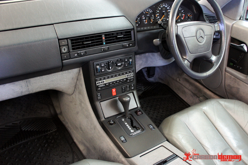 SL500 Carbon Fibre interior wrap