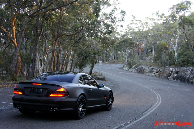 SL65 AMG Matte Black