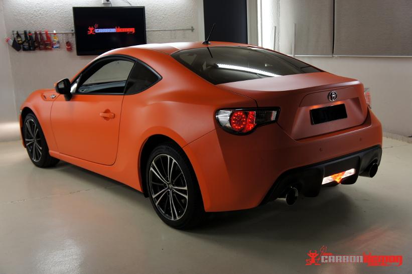 Toyota 86 Matte Orange
