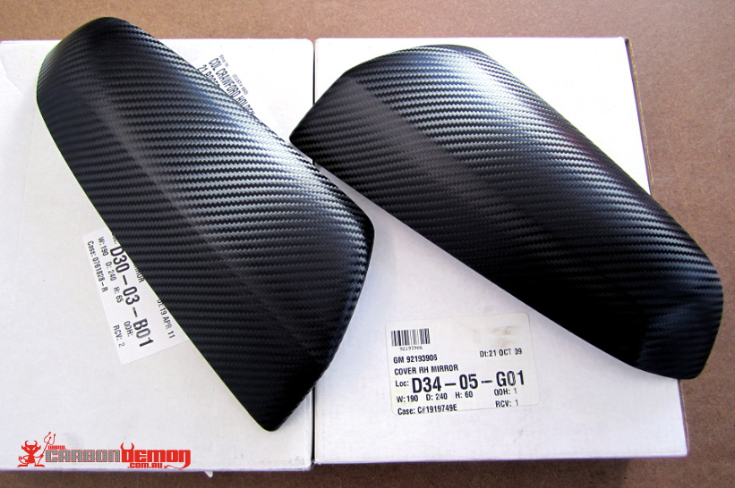 VE Carbon mirror cap cover