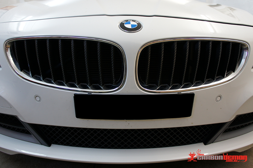 BMW Z4 Carbon Kidney Grille Wrap