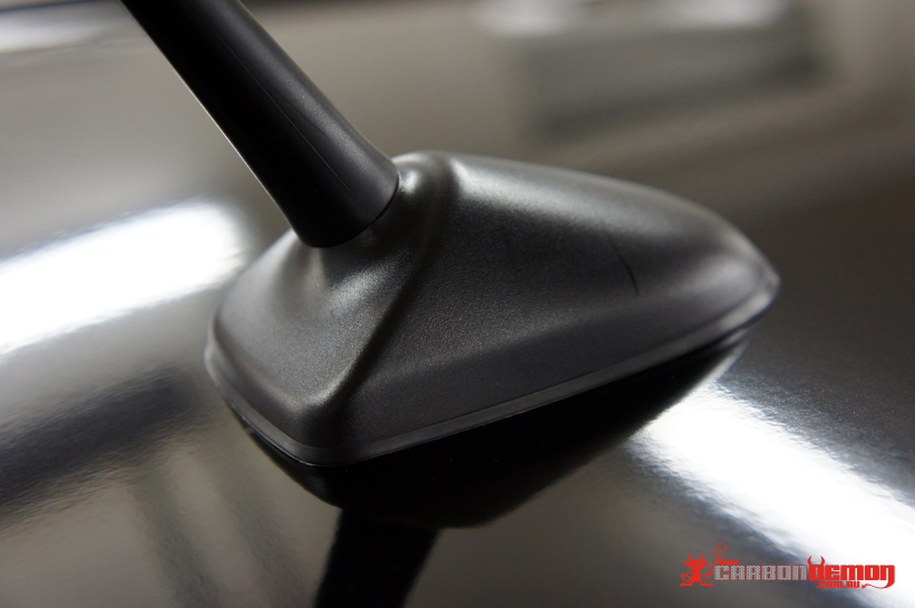 86 Gloss Black Roof - attention to detail
