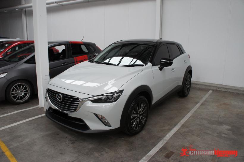 Mazda Mps Carbon Fibre Wrap Modification