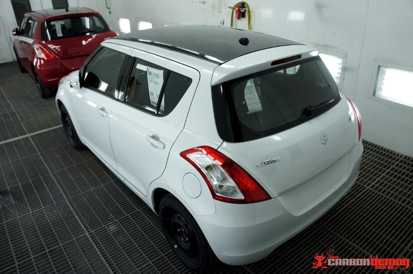 Suzuki Special Edition - Factory Bonus with Carbon Demon