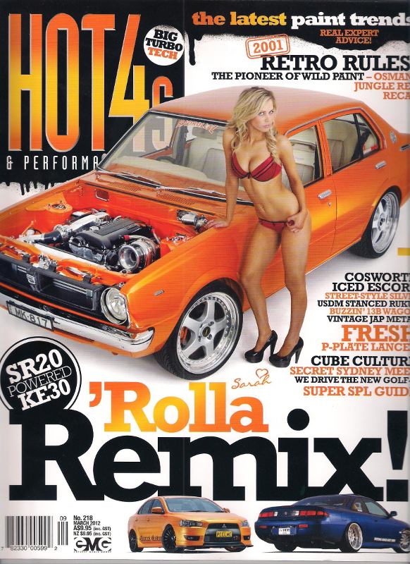 Vintage Corolla Custom Grille - Hot4s Cover Car