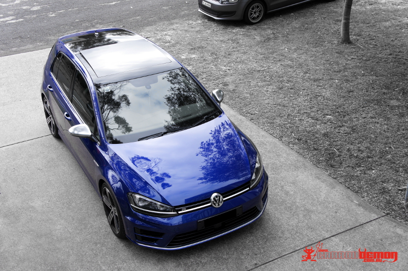 Vw Volkswagen Vinyl Wrap Carbon Demon