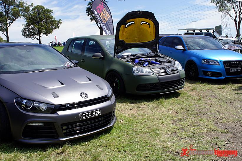 Matte Cars at Top Gear Festival