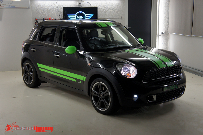 Mini Countryman R60 Custom Wrap