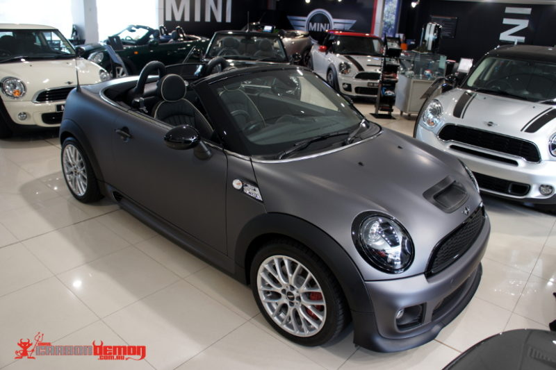Mini Roadster special edition