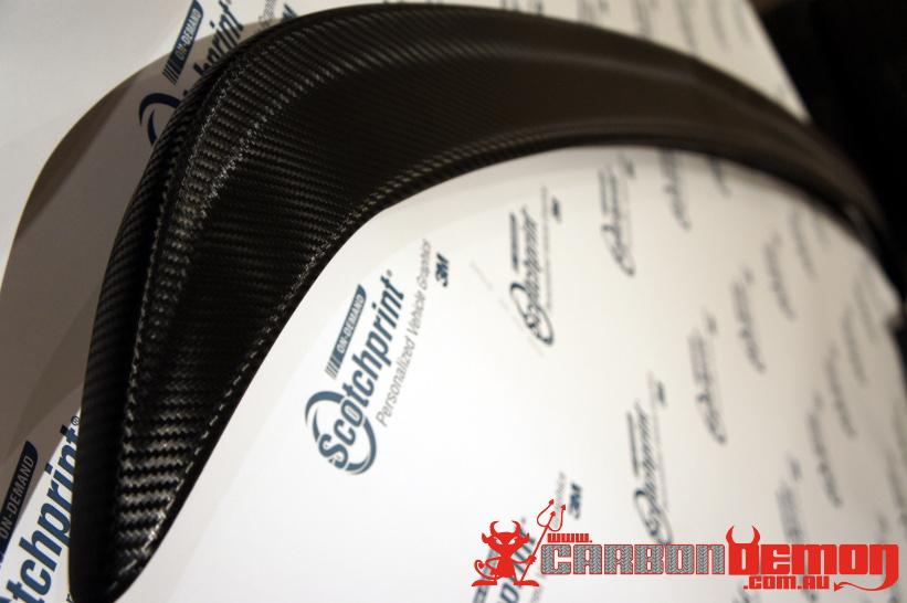 Nissan 200sx S15 carbon fibre spoiler wrap