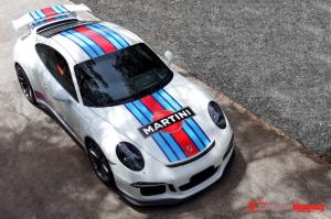 Porsche 991 GT3 Martini vinyl decal kit